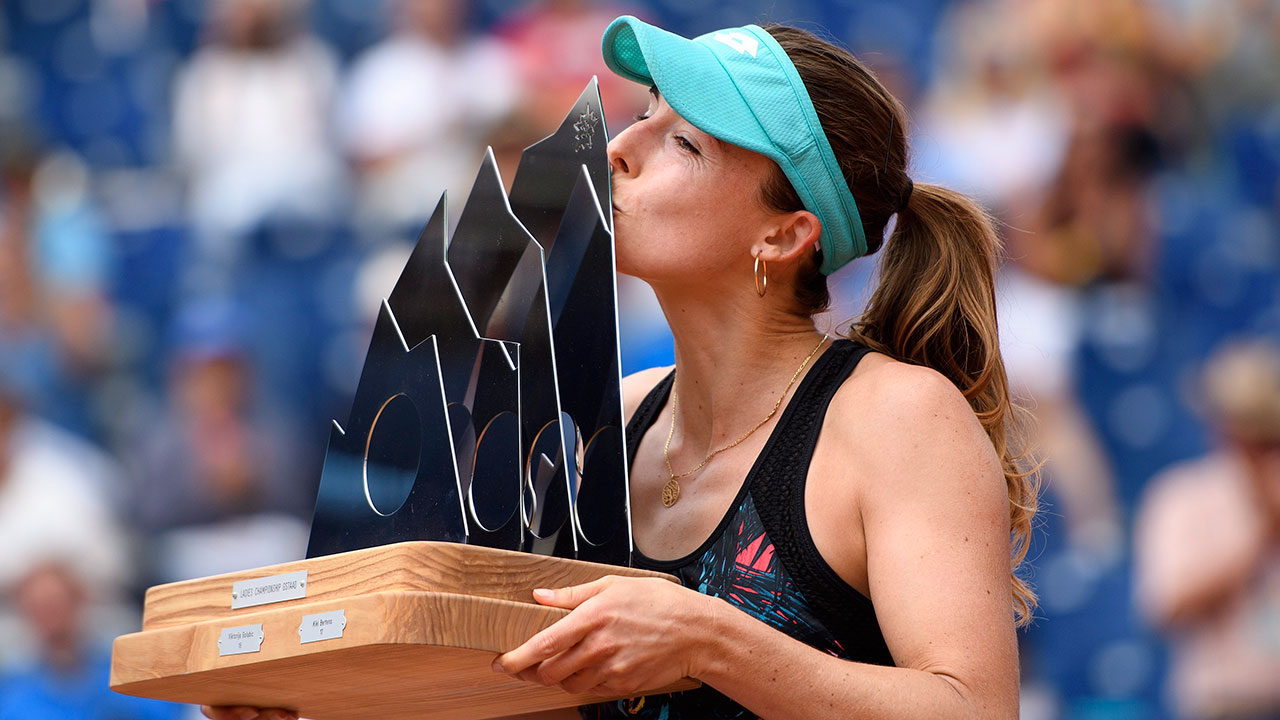 Top-seed Alize Cornet beats Mandy Minella in Gstaad final