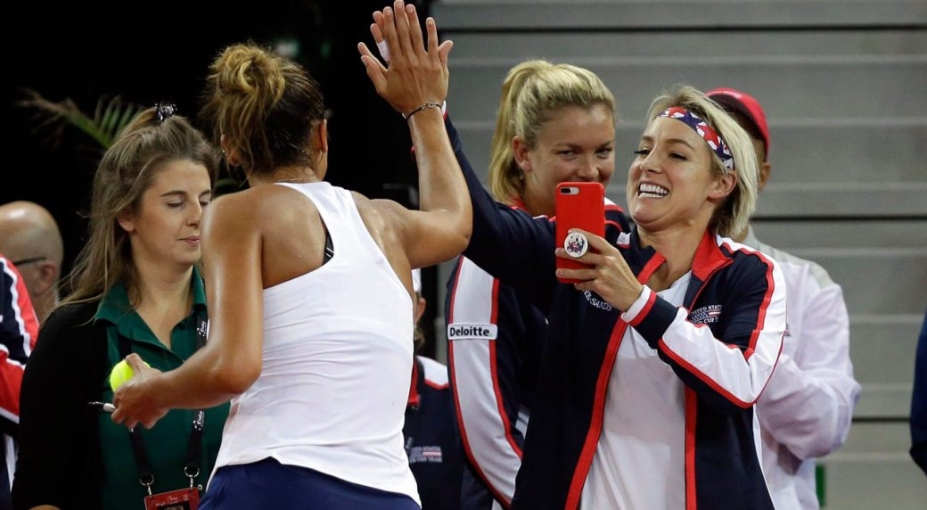 fed cup 2019 live