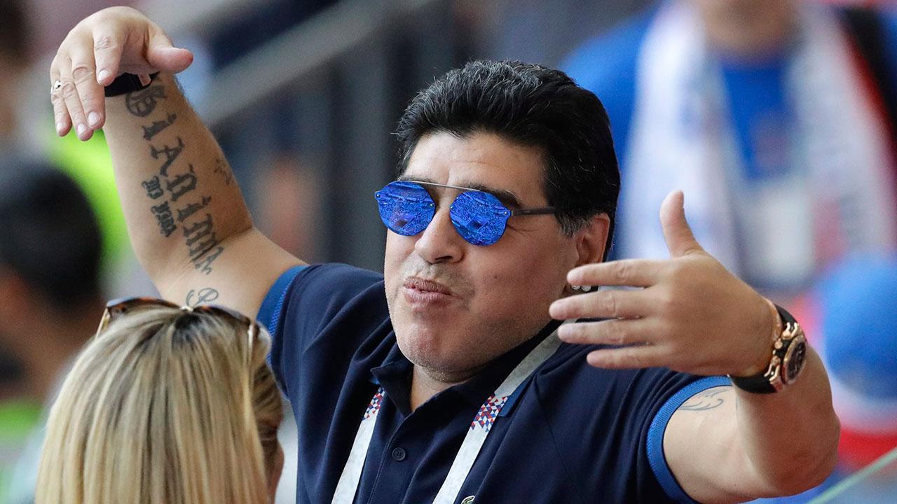 FIFA rebukes Maradona for criticizing World Cup referee