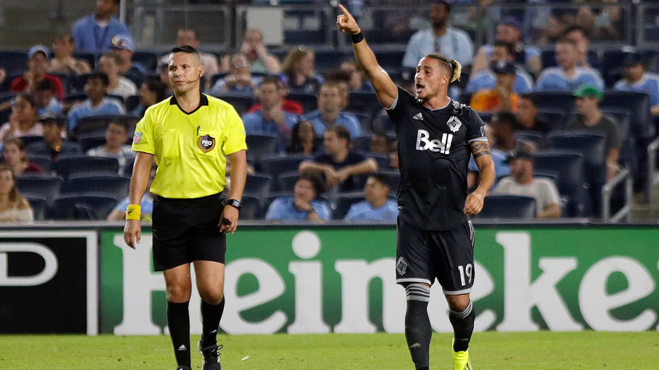 Davies the difference again for Whitecaps in draw with NYCFC