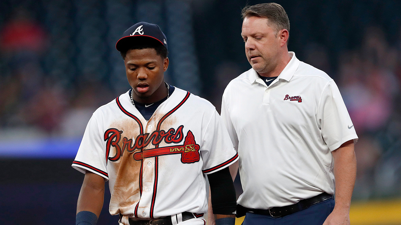 Braves' rookie Acuna back in lineup, fails to homer in loss