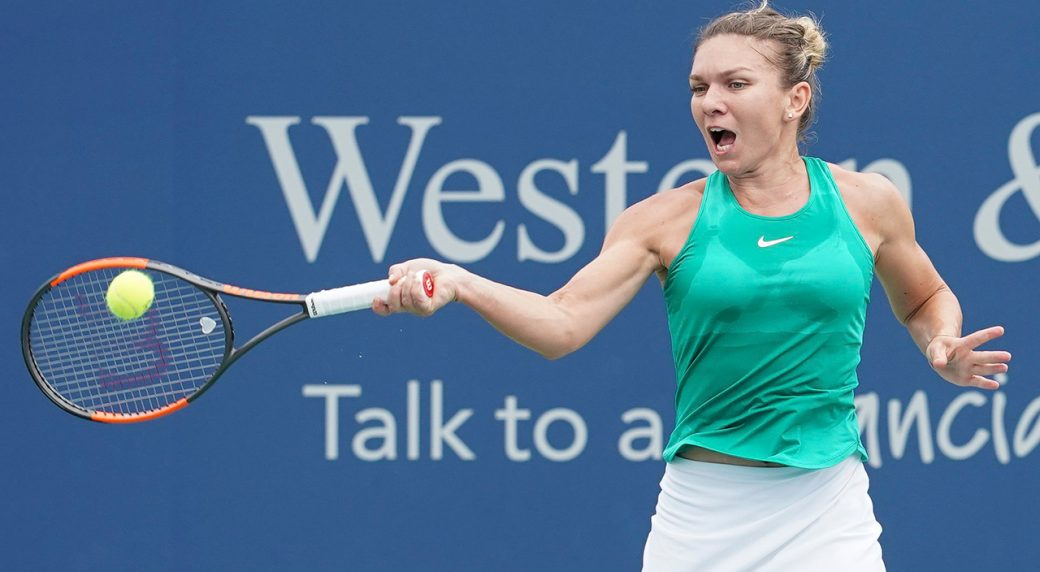 Kiki Bertens stuns world number one Simona Halep for Cincinnati title