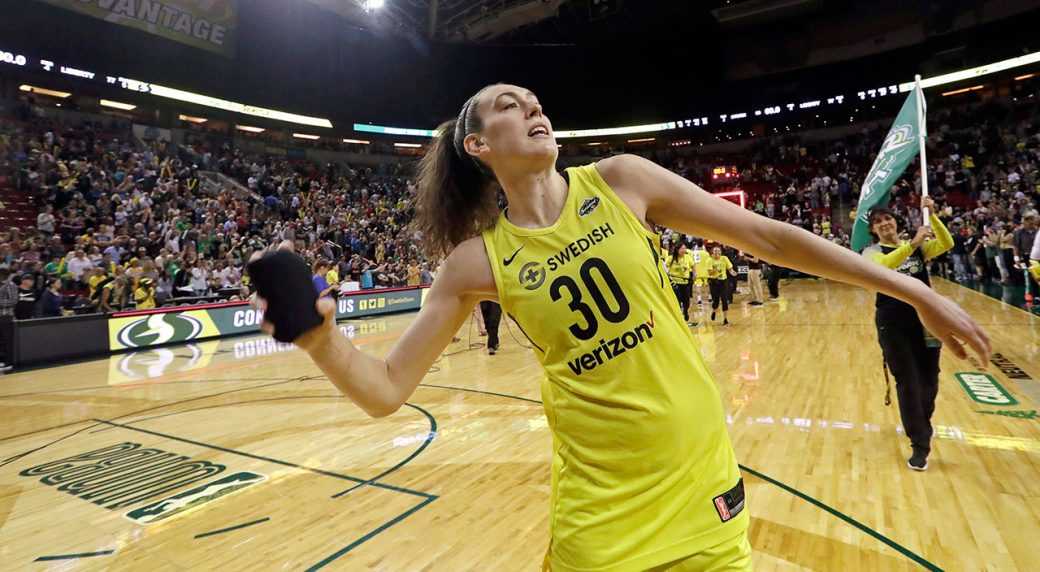 Seattle Storm's Breanna Stewart named WNBA MVP