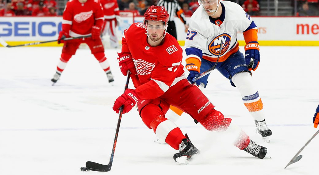 3bf29ec4947 Dylan Larkin appears poised to become next Red Wings captain ...