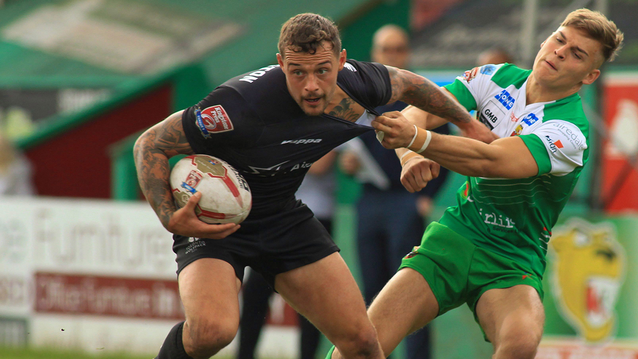 Hull Rovers hold off Toronto Wolfpack in Super 8 Qualifiers