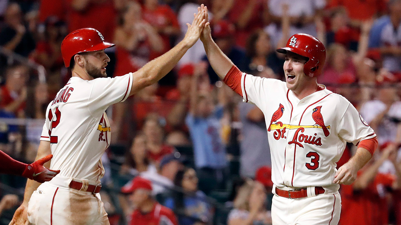 Cardinals beat Brewers to move into 2nd NL Wild Card spot