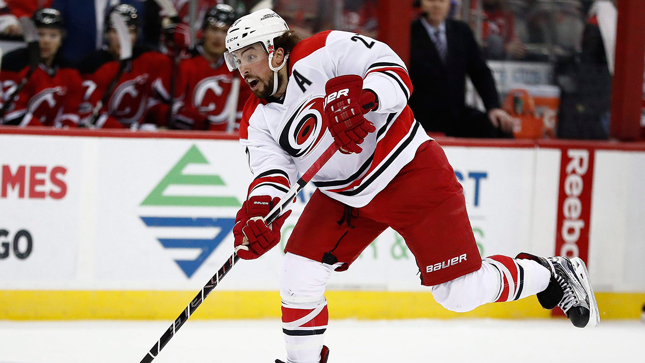 68e279bda10 Hurricanes GM says he's 'not actively shopping a defenceman ...