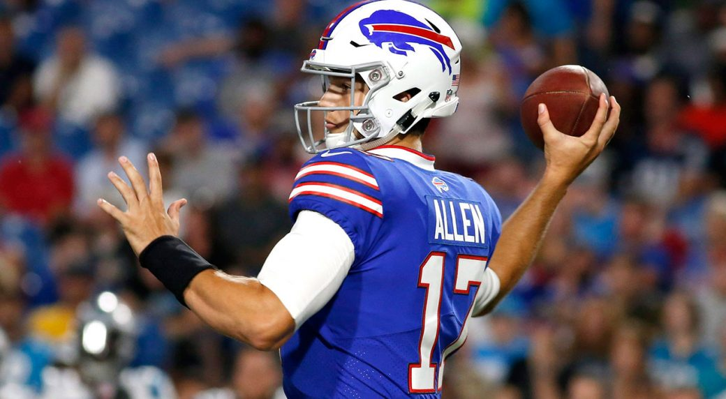 Bills QB A.J. McCarron fractures collarbone in preseason game