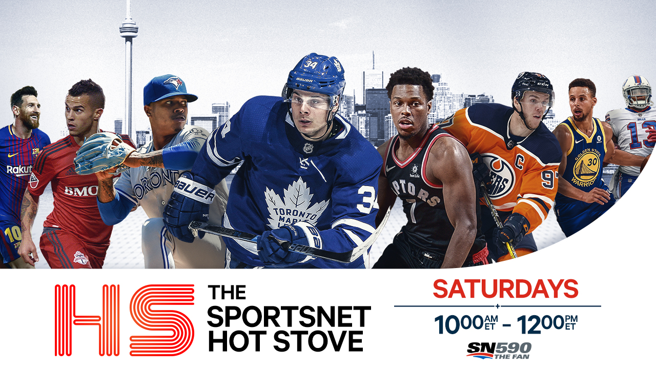 The Sportsnet Hot Stove Logo Image