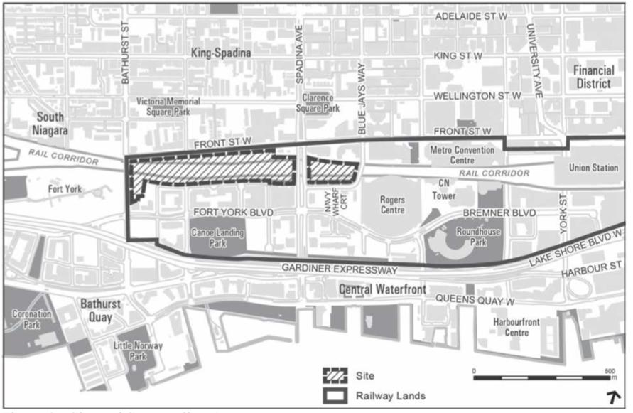 Plans for Rail Deck Park.