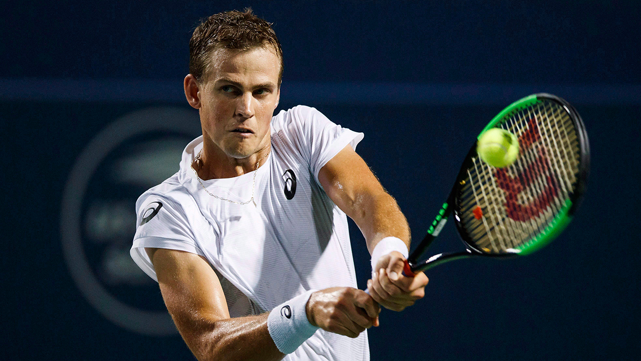 Pospisil, Shapovalov win Canadian matchups, Bouchard wins in Luxembourg