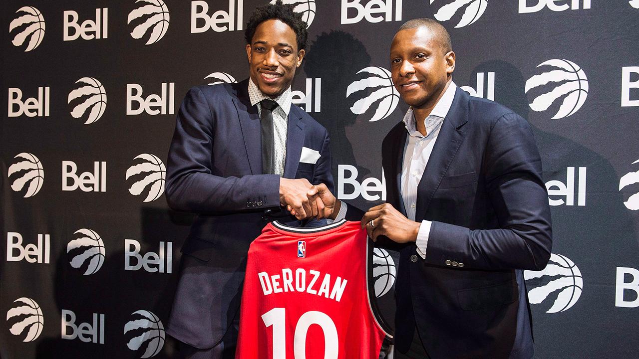 Masai Ujiri on Raptors' summer changes: 'The goal is a championship'