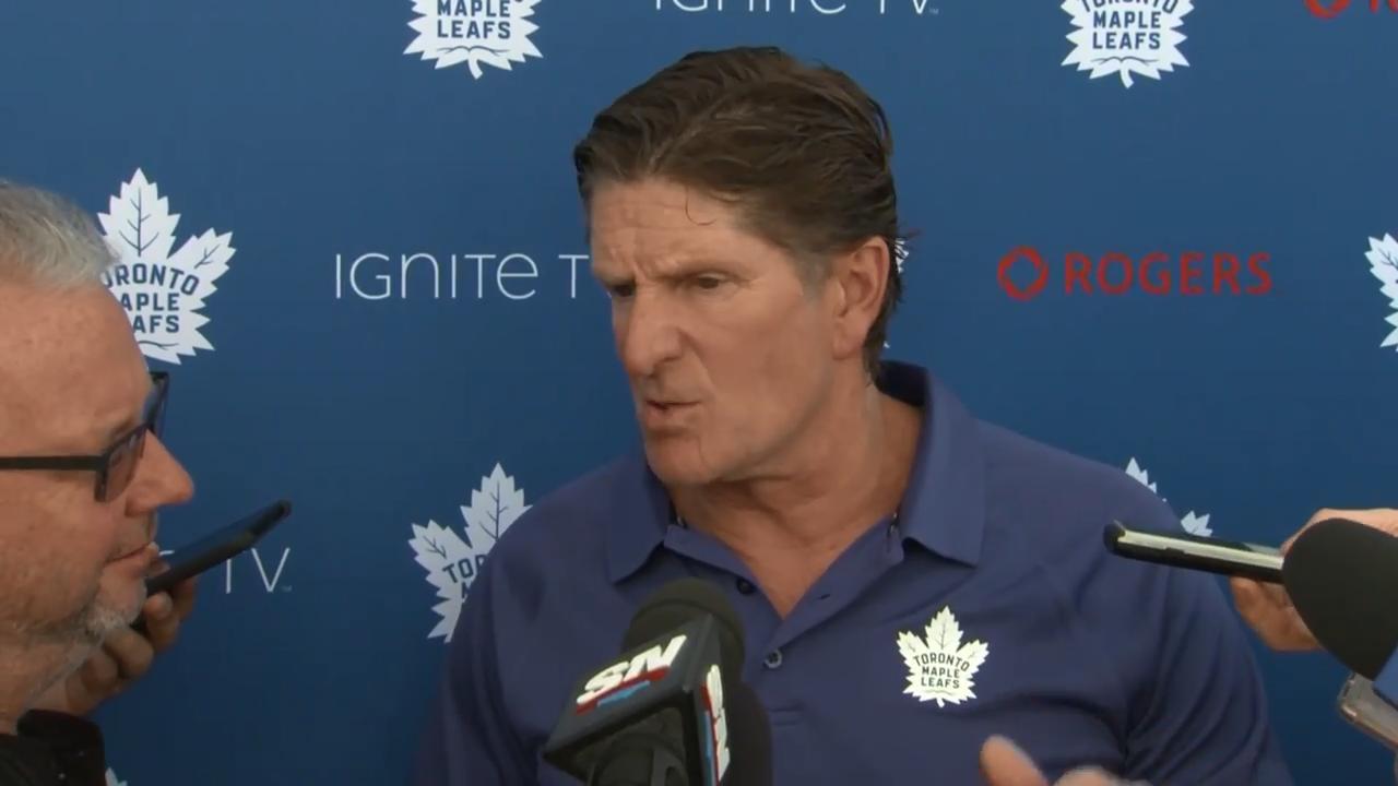 Babcock says Matthews is 'skating at another level'