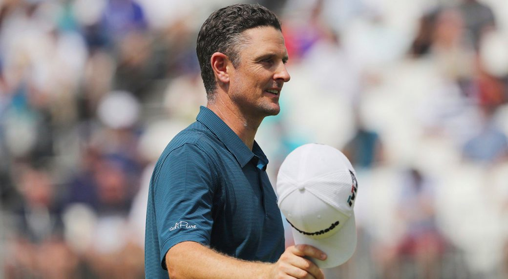 Justin Rose waits as final round of BMW Championship moved to Monday