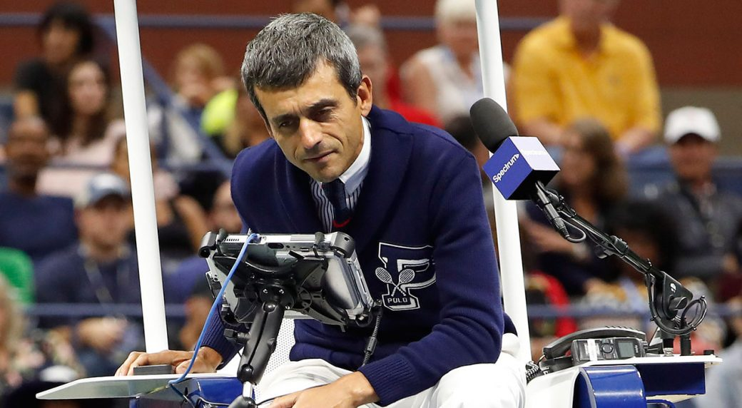 U.S. Open chair umpire Carlos Ramos says he is 'fine'
