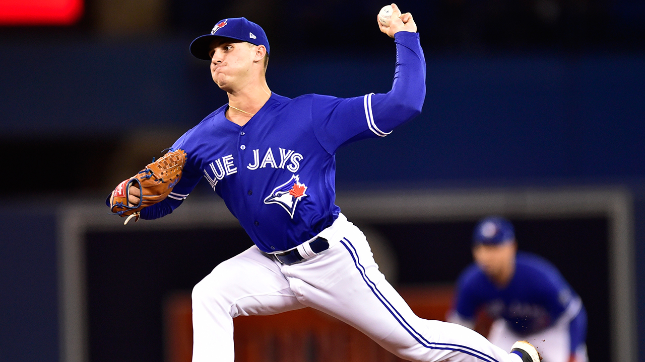 Pannone has outing to remember in Blue Jays' win over Indians