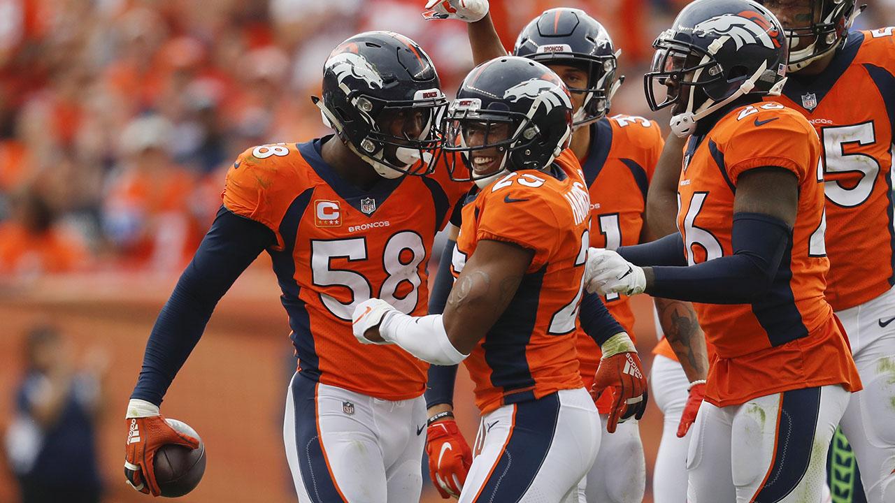 Miller leads Broncos past Seahawks