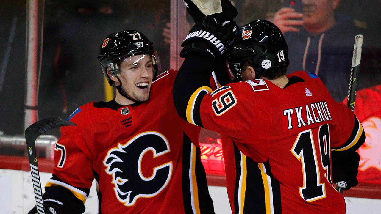 Czarnik's hat trick leads Flames to win over Canucks