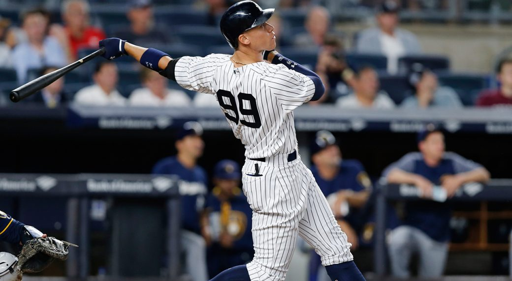 e8f400db09c Yankees  Aaron Judge has MLB s top selling jersey again - Sportsnet.ca