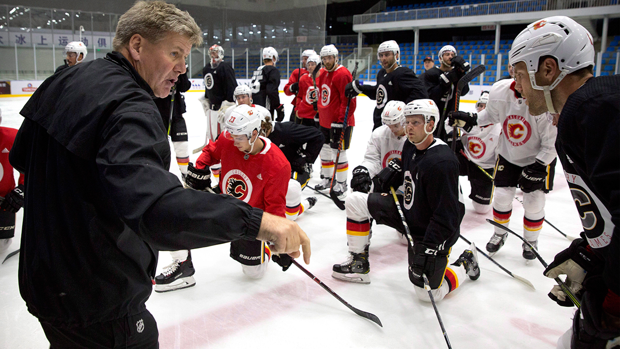 flames-coach-bill-peters-instructs-players