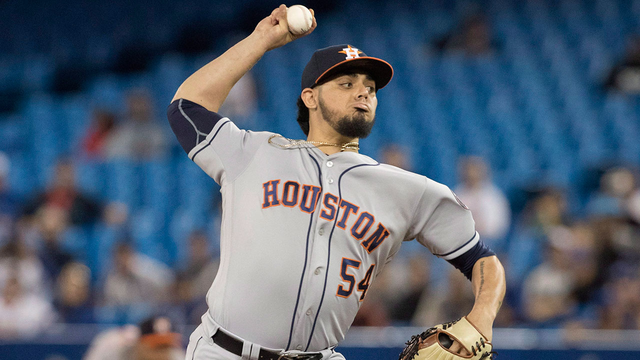 MLB-Astros-Osuna-pitching-against-Blue-Jay
