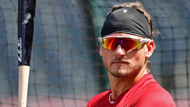 MLB-Indians-Josh-Donaldson-at-batting-practice