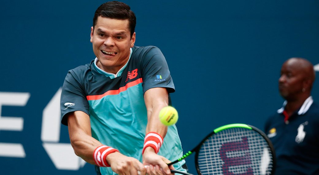 Milos Raonic Bows Out Of U S Open After  Set Loss To John Isner