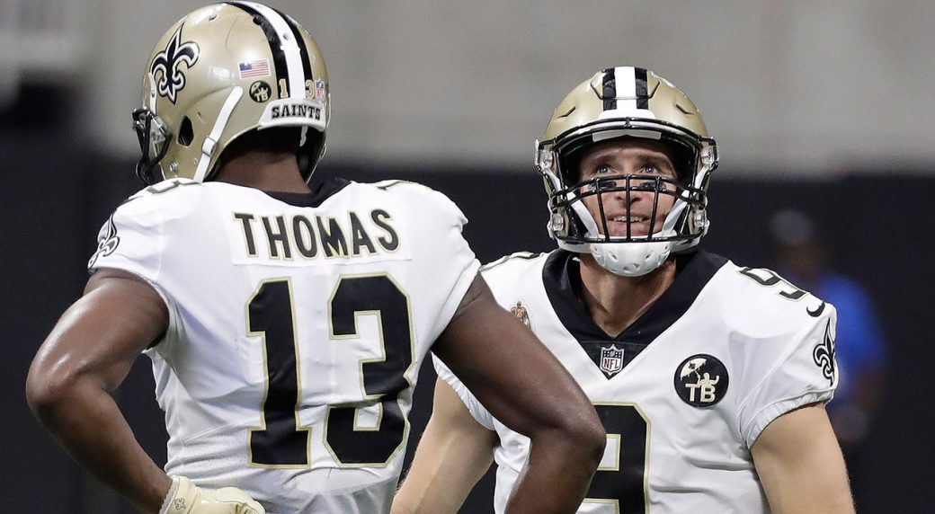 Drew Brees sets NFL record for most career completions. New Orleans Saints  quarterback ... d7167cd82