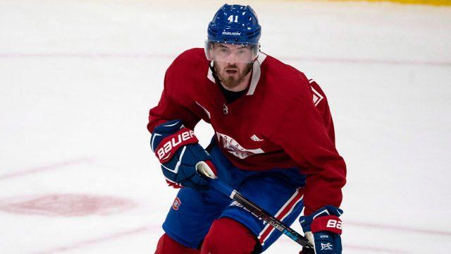 NHL-Canadiens-forward-Byron-skating