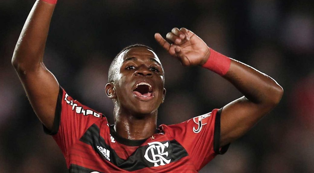 Real Madrid wonderkid Vinicius 'bitten' by Atletico B defender