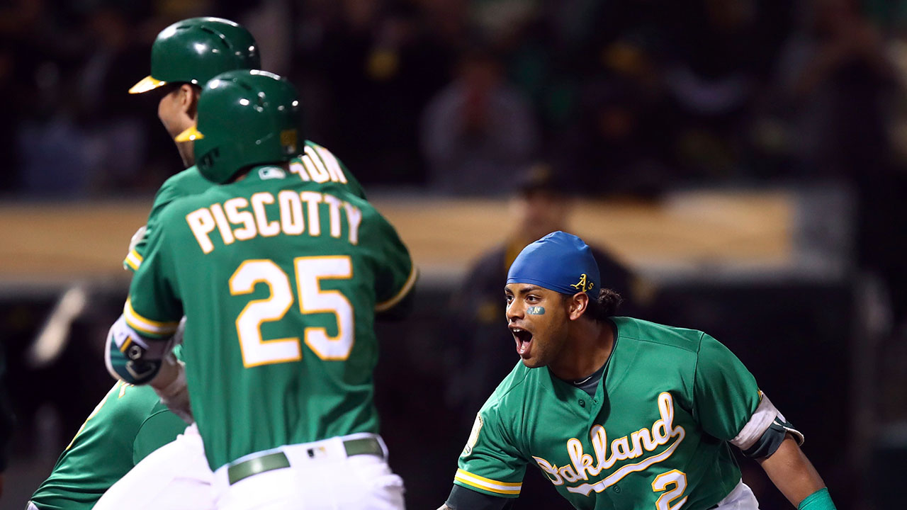 Athletics cut magic number to 1 with another walk-off win