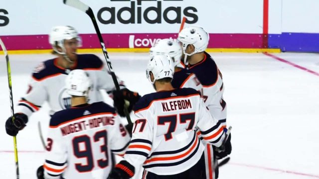 Oilers  Lucic and McDavid perfect give-and-go in Germany a89900873