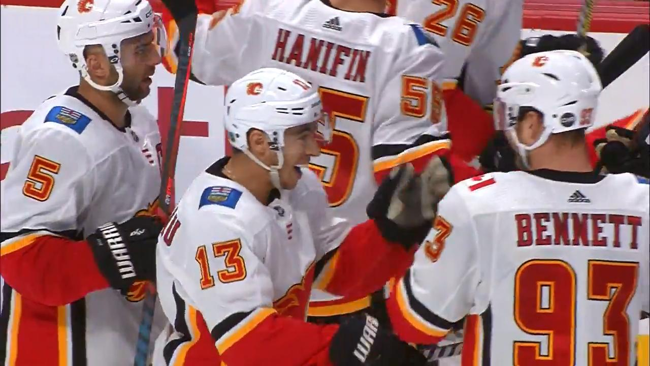 Johnny Gaudreau ends it in OT with a slick backhander