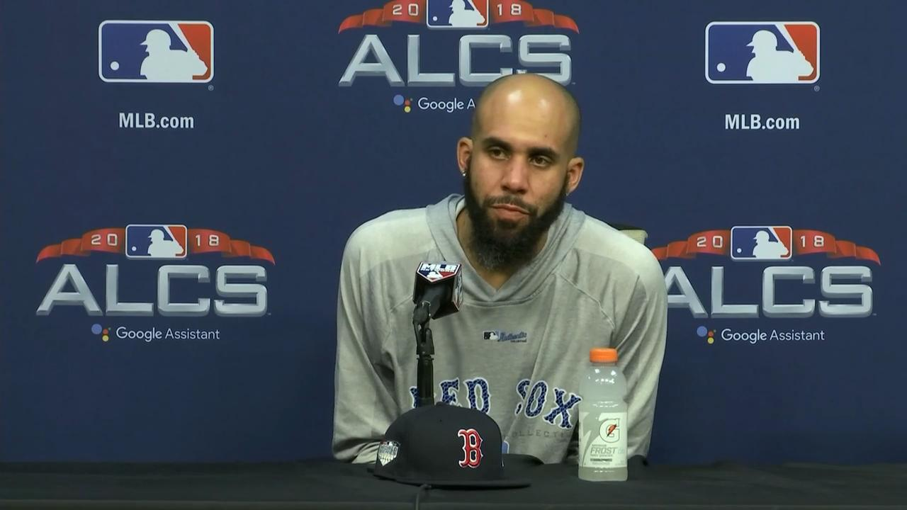 David Price: One of the most special nights I've ever had