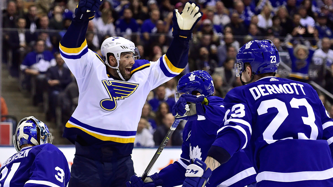 74064b22d76 Maple Leafs suffer second straight defeat after loss to Blues - Sportsnet.ca