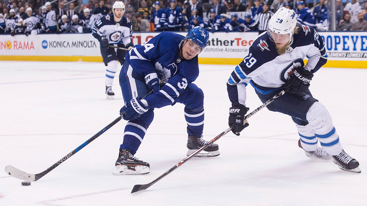 Leafs And Jets Set For Big Tilt In The 'Peg