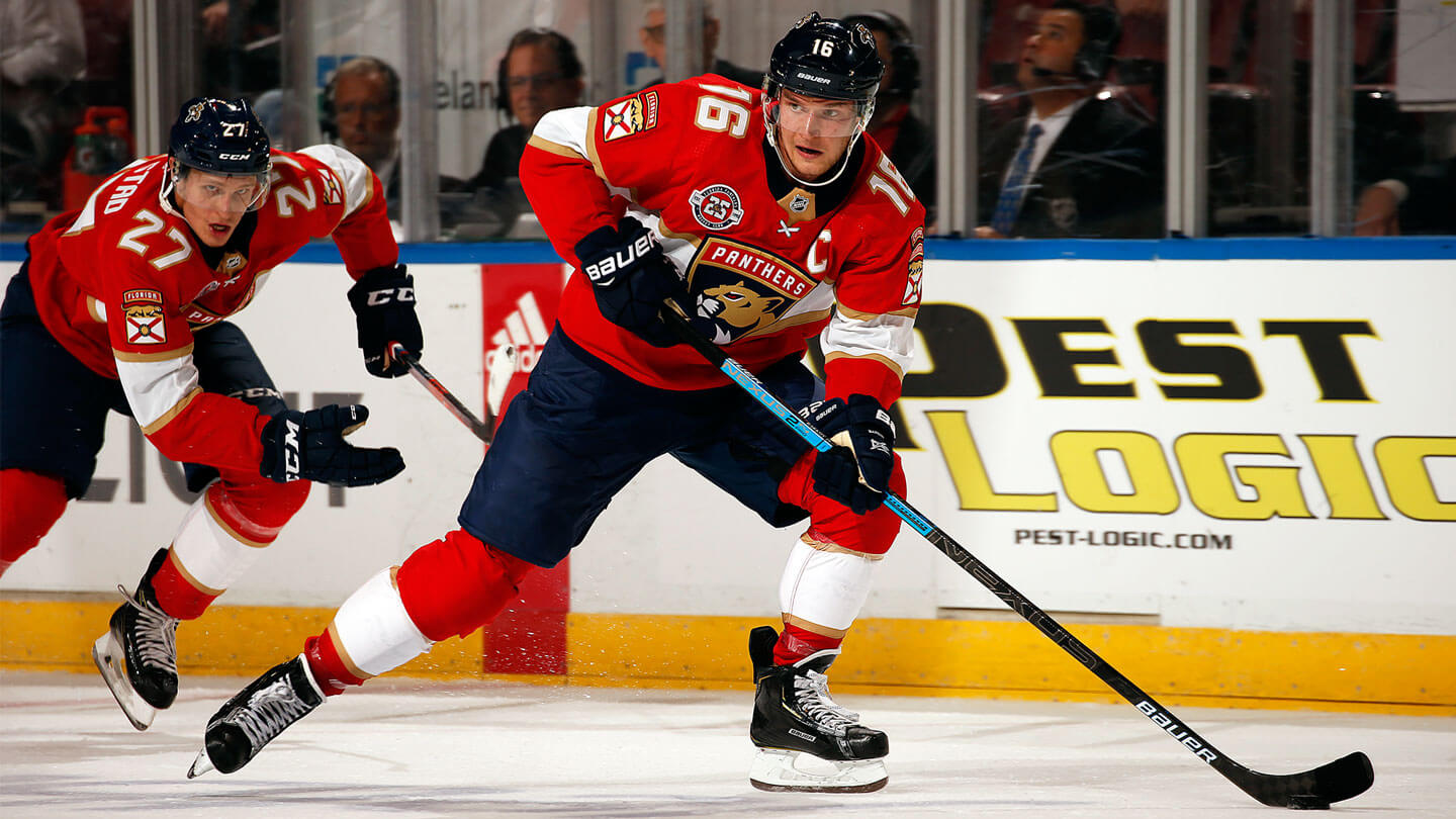 46f62ab6c18 Grabbing a little lunch with Panthers captain Sasha Barkov ...