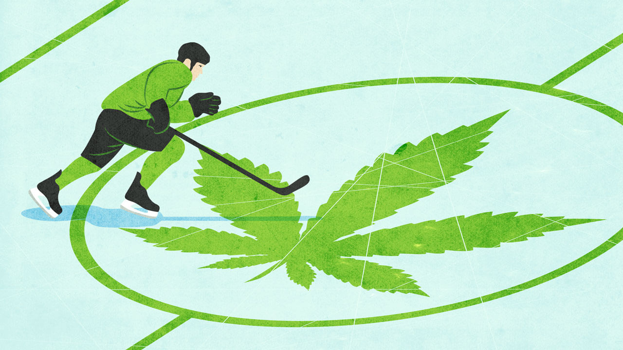 Marijuana use in the NHL: The times they are a changin'