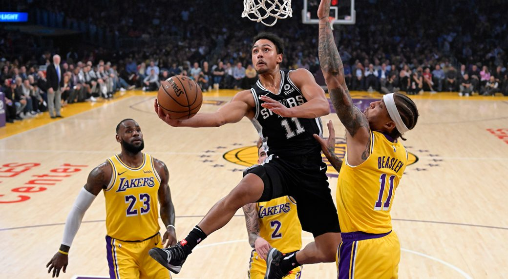 Spurs rally in overtime to keep Lakers winless in LeBron era ... ae4938fb7