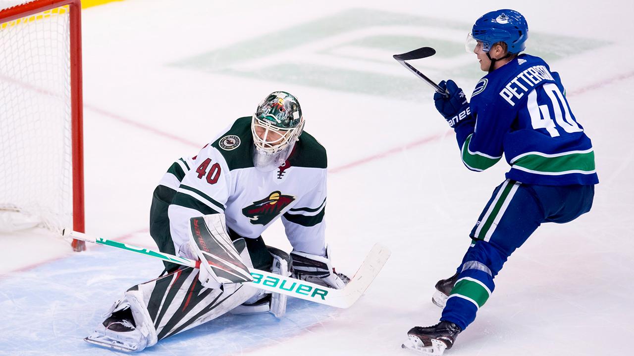 Elias Pettersson scores twice as Canucks beat Wild - Sportsnet.ca 68d00316b