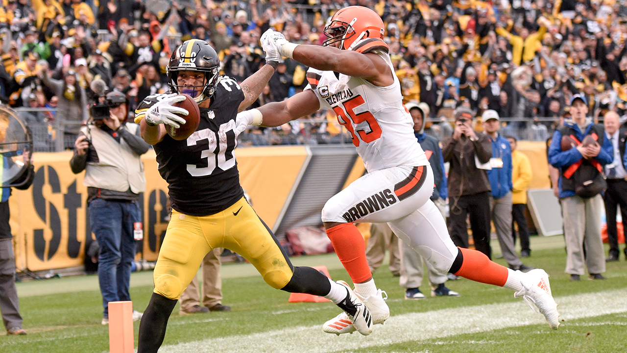 de111b0ef Steelers crush Browns as Pittsburgh mourns shooting victims ...