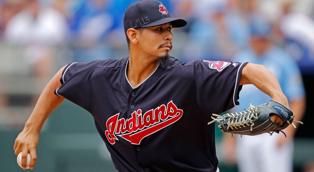 MLB-Indians-pitcher-Carlos-Carrasco-throws-against-Royals