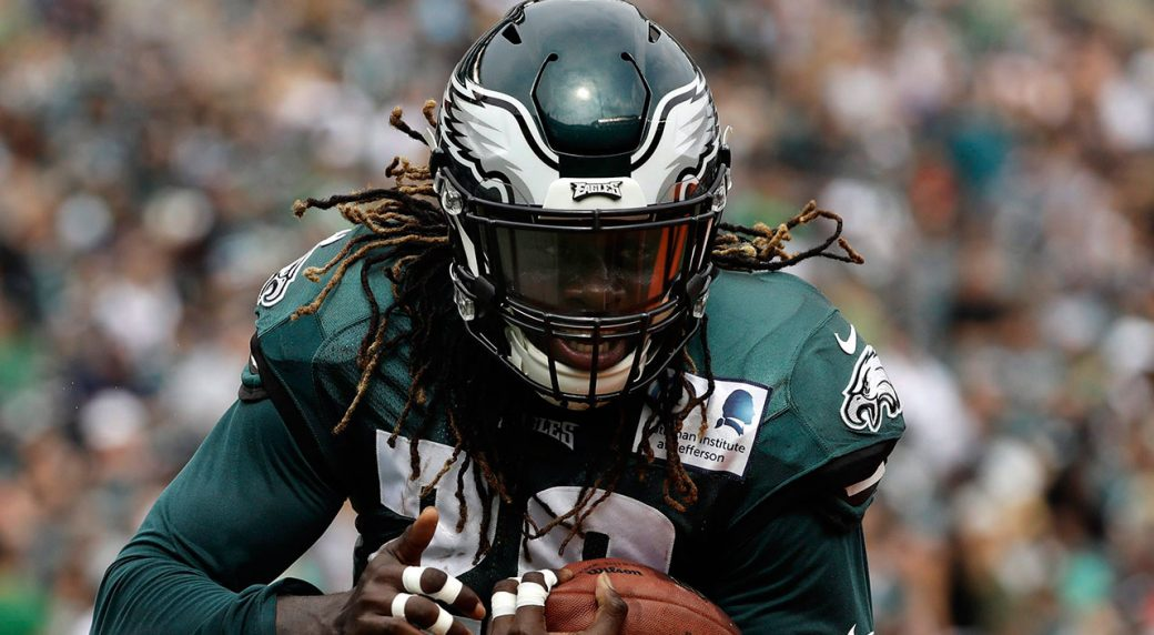 Jay Ajayi is out for the season with a torn ACL