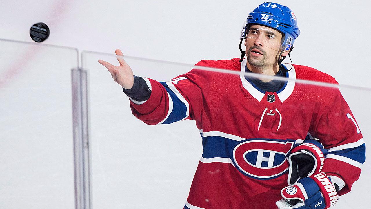 Canadiens' Plekanec may miss several weeks with back injury
