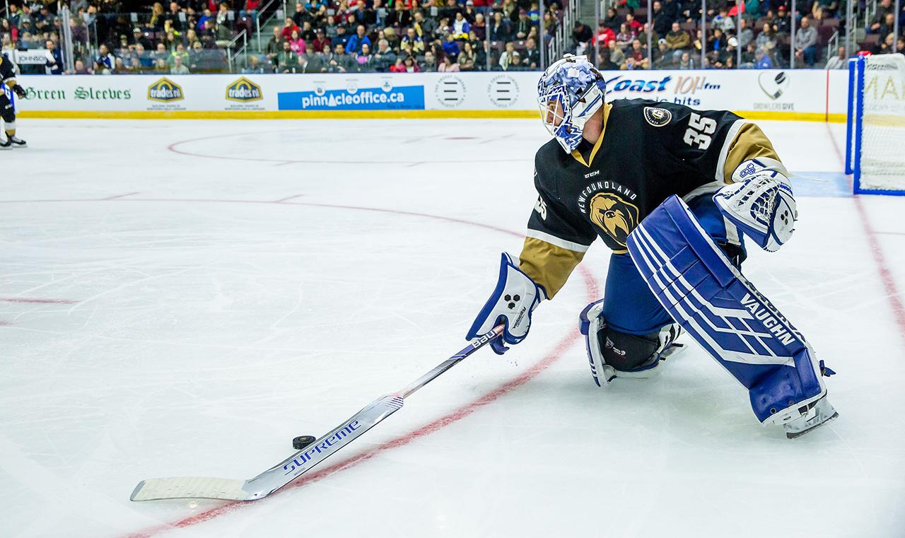 Meet Eamon McAdam, the Maple Leafs' surprise emergency goalie