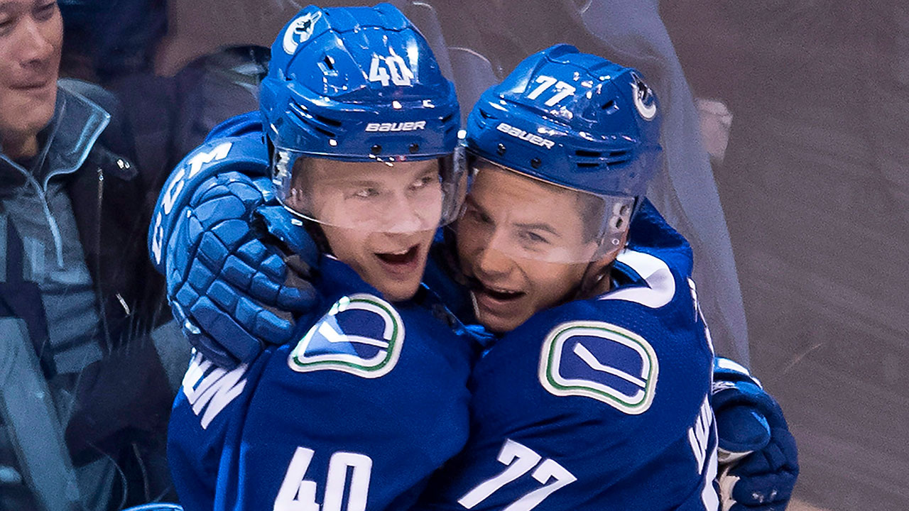 Elias Pettersson Driving Canucks' Attack, Energy