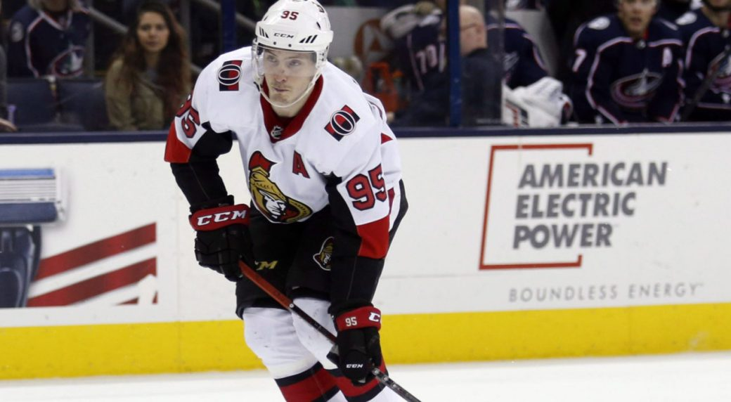 Senators trade Duchene to Blue Jackets for 1st-rounder, prospects