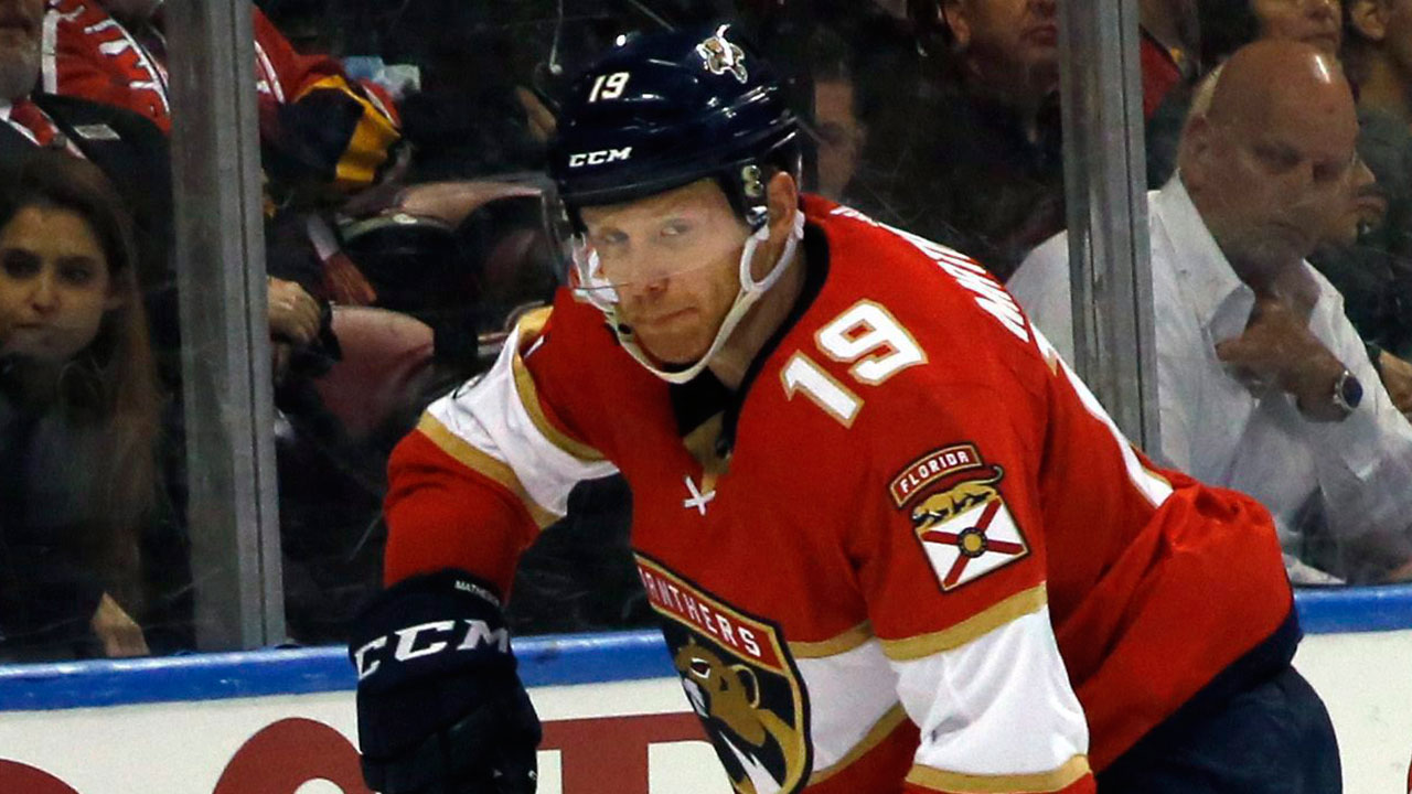 Panthers' Matheson had death threats after hit on Canucks' Pettersson