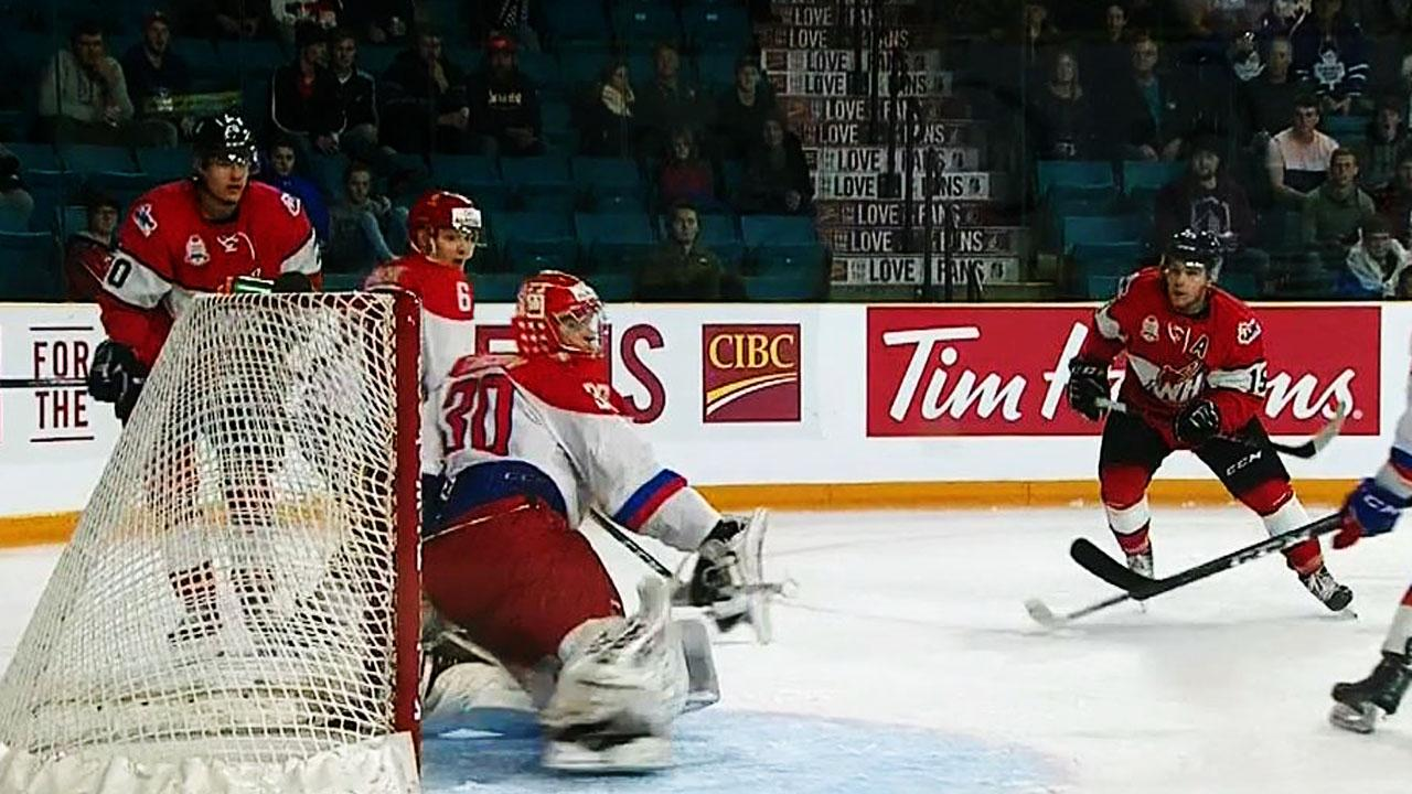 Bellerive leads WHL to victory in opener of CIBC Canada Russia Series