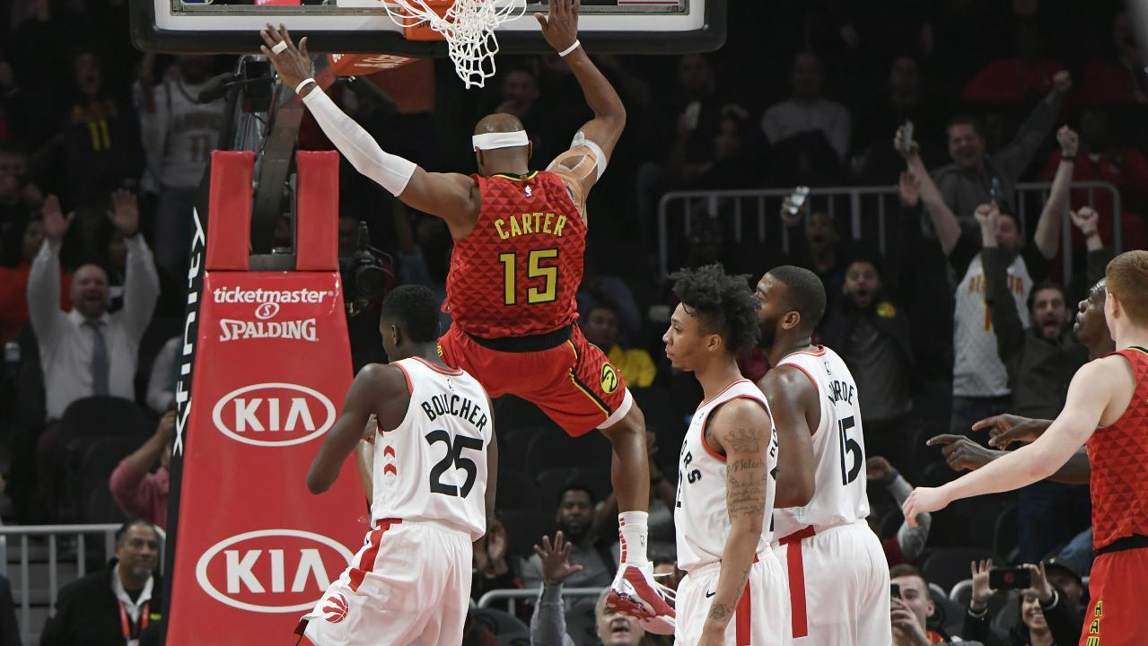 3df90563d4f Vince Carter makes history, Raptors handle Hawks - Sportsnet.ca